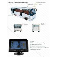 Buy cheap School Bus Around View Monitor Parking Guidance Universal Car Camera System, Bird View System product