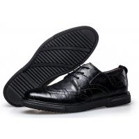 Full Brogue Mens Business Dress Shoes , Casual Mens Dress Work Shoes