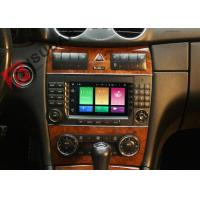 Buy cheap Multi Touch Screen Mercedes C Class Dvd Player , Mercedes Benz Head Unit 4G Function product
