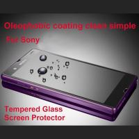 Buy cheap 9H Mobile phone shatterproof glass film screen protector for Sony Xperia Z L36H from wholesalers