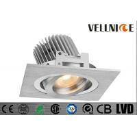 Buy cheap Pure Aluminum Silver 6W Recessed Led Ceiling Lights COB Tiltable Cut Out 83mm 700mA Commercial Led Lighting/CR3B0653 from wholesalers