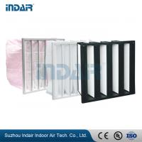 Buy cheap Leak Proof Industrial HEPA Filter , High Performance Air Filter For Heating System from wholesalers