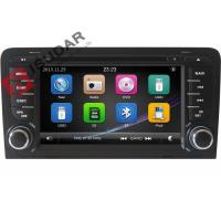 Buy cheap Capacitive Screen Audi Car Dvd Player , Double Din Car Media Player With DVD Speed Reading from wholesalers