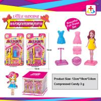 Buy cheap Magic fashion show toys for girl with press candy product