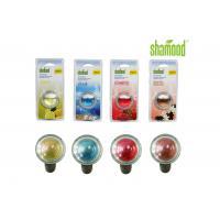 Long lasting Colorful Round Crystal Liquid Car Air Freshener Aromatous