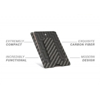 Buy cheap One Handed High Toughness 10g Real Carbon Fiber Wallet from wholesalers