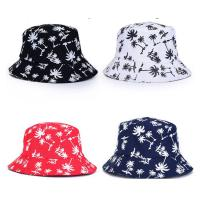 Buy cheap 100% cotton Double sided cheap customized bulk printing folding bucket hat size of 58-60. from wholesalers