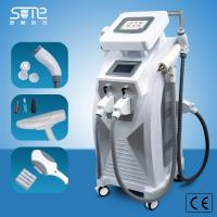Buy cheap CE approval 3 in1 elight ipl SHR RF nd yag laser Double screen same time work for hair removal ipl beauty machine from wholesalers