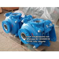 Buy cheap 30 Years Factory  High Chrome Alloy Cr 27 %  4/3 C-AH China  Horizontal Slurry Pump from wholesalers