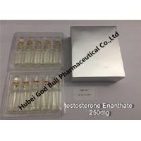 Buy cheap testosterone enanthate Injectable Anabolic Steroids injection 250mg/ml 1ml/vial super quality from wholesalers