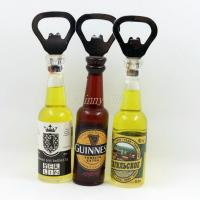 Buy cheap Shinny Gifts Promo Gifts Bottle Opener with Fridge Magnet Sticker from wholesalers