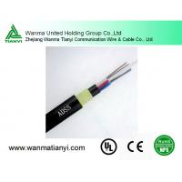 Buy cheap 24 Core Optical Fiber Cable ADSS product