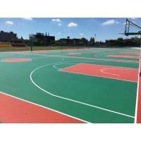 Futsal Court Rubber Sports Flooring Slip Resistant 3 - 8mm Thickness