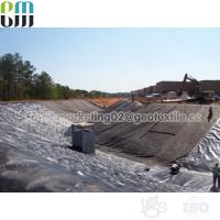 Buy cheap PP Black woven geotextile price soil stabilization fabric rolls from wholesalers