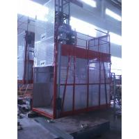 Buy cheap Goods Electric Passenger Hoist Elevator , Construction Site Elevator from wholesalers