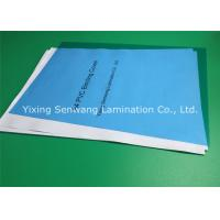 Buy cheap Office Clear Blue Customized Binder Covers 200 Mic Less Fish Eye from wholesalers