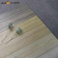 Buy cheap Glazed Smooth Wood Look Ceramic Tile 150x600 Mm Three Dimensional Effect product
