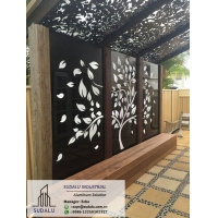 China Artistic Decoration Aluminum Perforated Gallery Screen Panel on sale