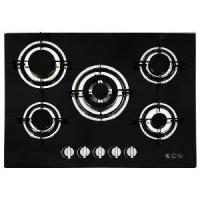 Buy cheap Gas Hob 5 Burners Panel Size 700*520mm ,Auto Pulse Ignition,Colourful Glass Panel for Choice(GH-G715E) from wholesalers