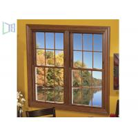 Buy cheap Low E Aluminium Vertical Sliding Windows Energy Saving Tempered Glazed from wholesalers