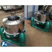 Buy cheap Sewage Treatment Industrial Basket Centrifuge SS 304 / 316L With Rapid Speed Rotary Drum from wholesalers