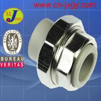 Buy cheap PPR plastic pipe fittings double plastic end union from wholesalers