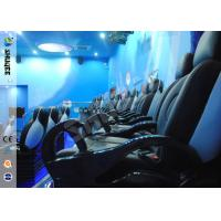 Buy cheap Up / Down Movement 5d Movie Theatre Simulator With Glass Fiber Chair 1900 X 850 X 1400 product