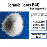 Buy cheap Microspheres 700HV SS304 Ceramic Bead Blasting Media from wholesalers