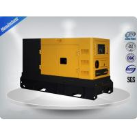 Power Genset, Diesel Generating Set  30Kva With Perkins Diesel Engine / Low Fuel AC Generator Set
