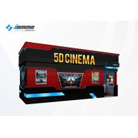 Buy cheap Optional Seats 5D Movie Theater Luxury Motion Chairs Flat Screen Dual Core Computer from wholesalers