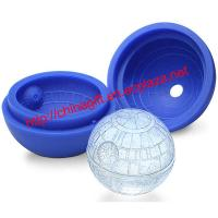 Buy cheap Star Wars Death Star Ball Shape Silicone Ice Cube Mold from wholesalers