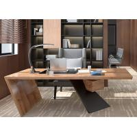 Buy cheap Classic Manager Office Furniture / Wood Office Desk For Senior Executives Office from wholesalers