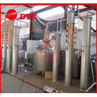 Buy cheap 100gal alcohol commercial distilling equipment , whiskey distillation equipment from wholesalers