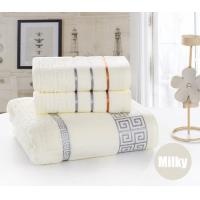 Buy cheap 3Pcs Towel set Cotton Beach Bath Face Towel Set for both Adults and Baby Bath Towel Set from wholesalers