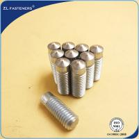 Buy cheap Zinc Plated Arc Welding Stud / Drawn Arc Stud Welding Carbon Steel from wholesalers