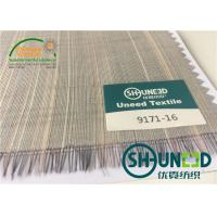 Buy cheap Horse Tail Woven Interlining Fabric For Uniform And Business Casual Suits product