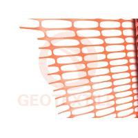 Buy cheap Lightweight HDPE Orange Plastic Construction Fencing , 70 * 40mm Removable Pool Fence product