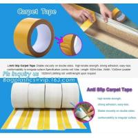 Buy cheap Removed easily acrylic double sided cloth carpet tape,Strongest double sided carpet tape heavy duty rug gripper tapes fo from wholesalers