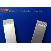 China Custom Wrapping Type Shielded FFC Cable Pitch 1.0mm With Earth Drain on sale