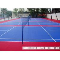 Buy cheap Red PP Synthetic Futsal Court Flooring With Anti Slip Waterproof from wholesalers