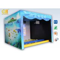 Buy cheap Indoor Playground 3D Game Machine Interactive Wall Projection For Smash Ball Game product