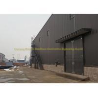 Q345 Prefabricated Warehouse Steel Structure Garage ASTM BS DIN Standard