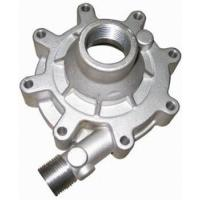 Buy cheap Auto Parts Casting Green Sand Casting Replacement Water Pump Body / Oil Pump Cover For Car Engine product