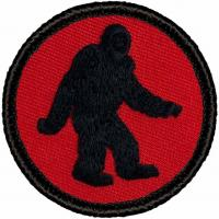 Buy cheap Bigfoot Patrol Custom Woven Badges Patch Round Embroidered Patches from wholesalers