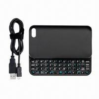 Buy cheap Bluetooth Slide Keyboard with Backlight, Ideal for iPhone 4/4S from wholesalers