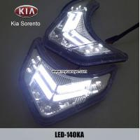Buy cheap KIA Sorento DRL LED Daytime Running Lights Car front driving daylight from wholesalers