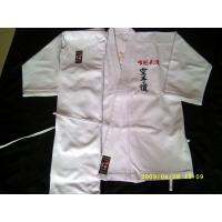 Buy cheap Custom made Unisex 100% cotton Gi Karate Uniform For Martial Arts from wholesalers