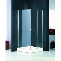 Buy cheap Semi Frameless Pivot Shower Enclosure Glass Shower Cubicles 800 X 800 from wholesalers