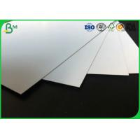 Buy cheap 400 - 1000g Laminated Grey Board , Coated Double Side Art Glossy Paper For Making High - End Gift Box from wholesalers