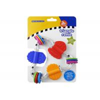 Buy cheap Food Grade Plastic Rattle Toys For Infants , Baby Teethers And Soothers product